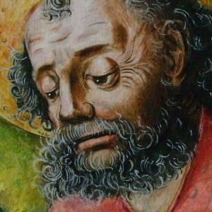 Aranyosmaróti i mester Id Szent Jakab lefejezése részlet