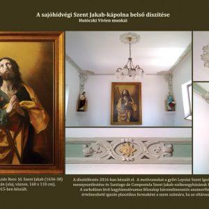 A sajóhídvégi Szent Jakab-kápolna díszítőfestése (szekkótechnika)