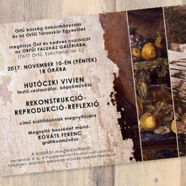 Önálló kiállításom nyílt az Orfűi Faluház Galériában