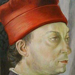 Benozzo Gozzoli másolat  (tiszta freskó tojásszekkóban befejezve)